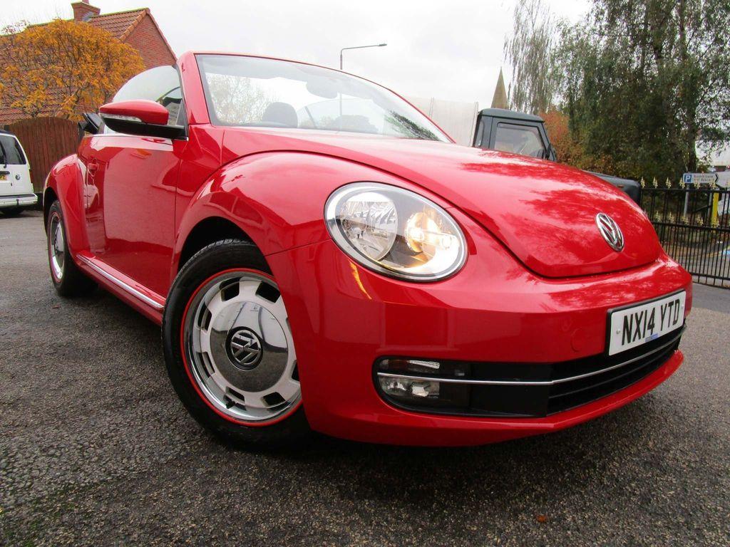 Volkswagen Beetle Convertible 1.6 TDI BlueMotion Tech Design Cabriolet 2dr