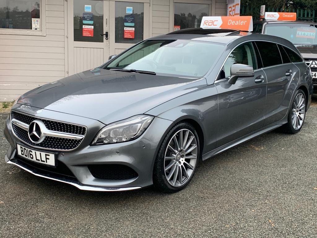 Mercedes-Benz CLS Estate 2.1 CLS220d AMG Line (Premium) Shooting Brake G-Tronic+ (s/s) 5dr