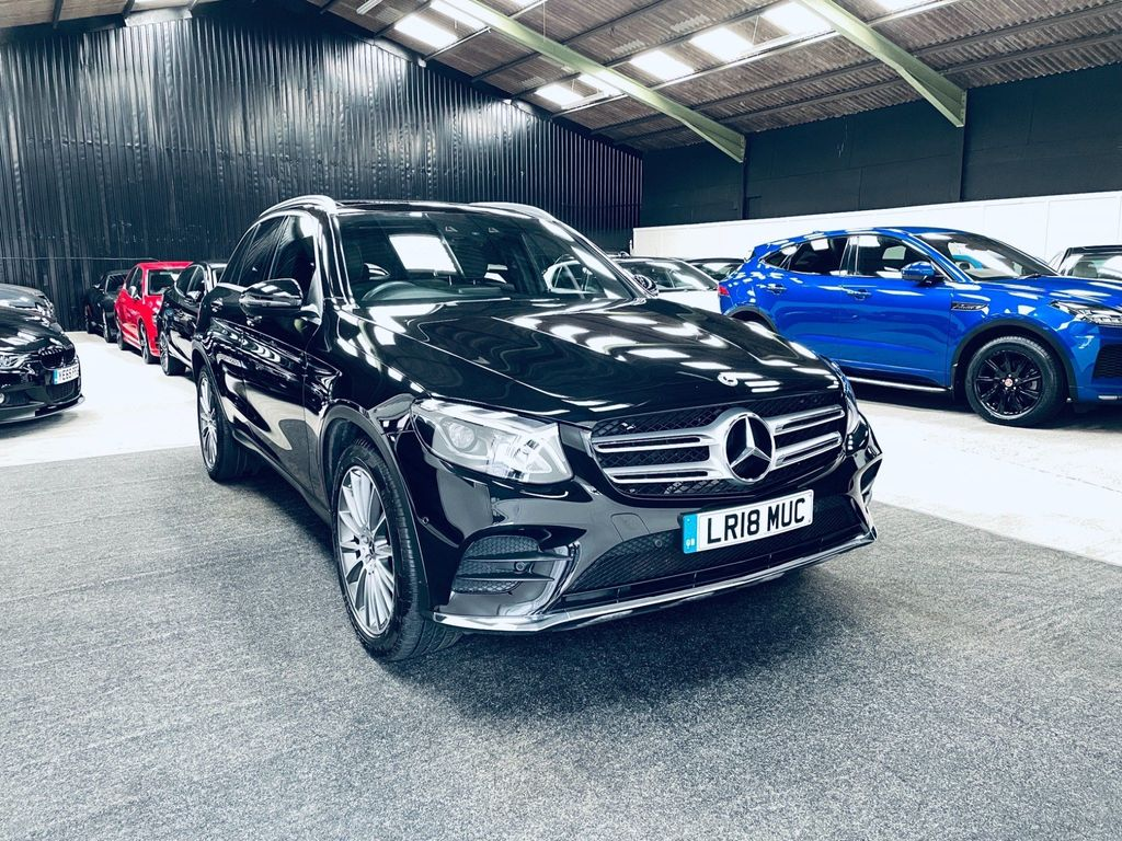 Mercedes-Benz GLC Class SUV 2.0 GLC250 AMG Line (Premium) G-Tronic 4MATIC (s/s) 5dr