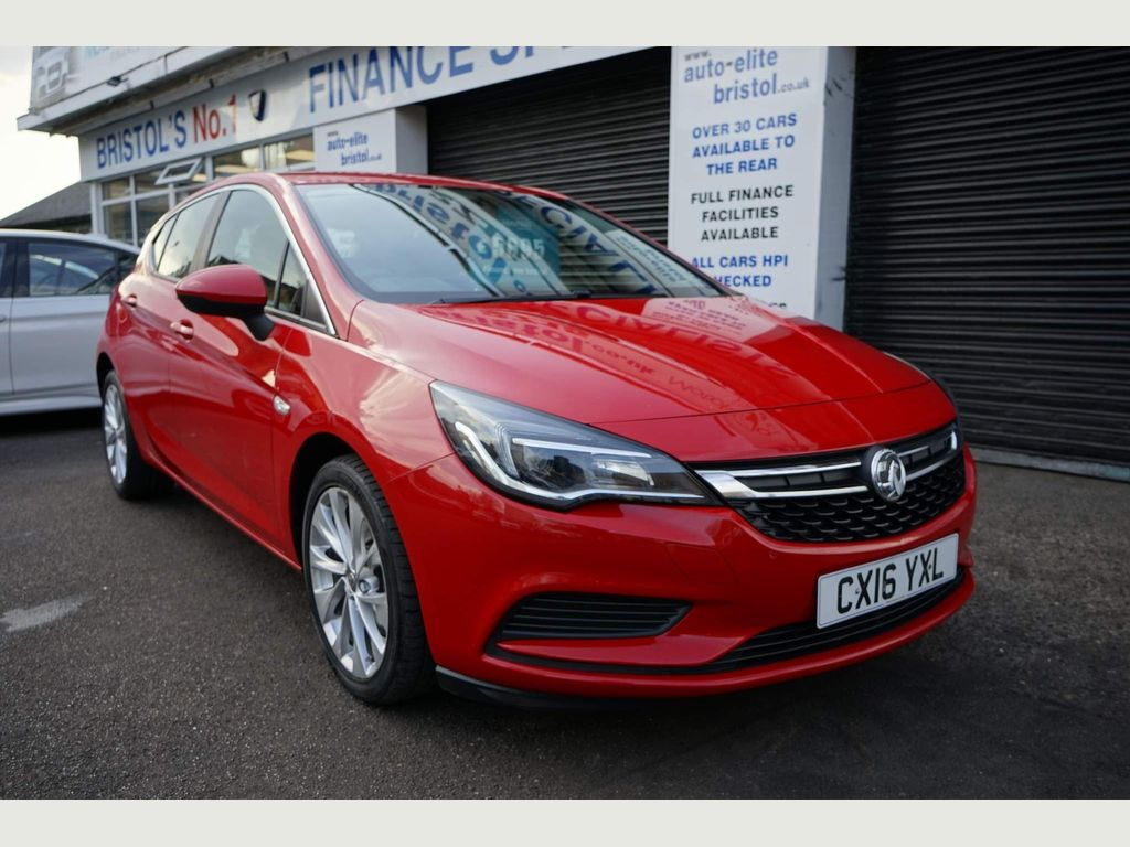 Vauxhall Astra Hatchback 1.6 CDTi ecoTEC BlueInjection Energy 5dr