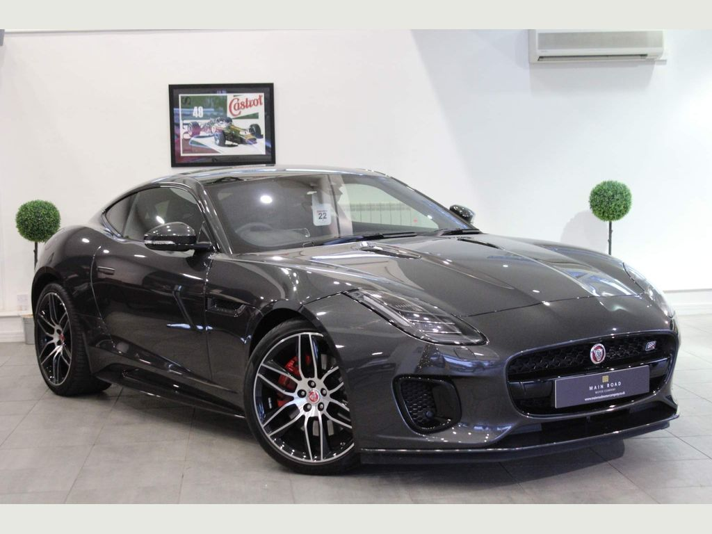 Jaguar F-Type Coupe 3.0 V6 Chequered Flag Auto (s/s) 2dr