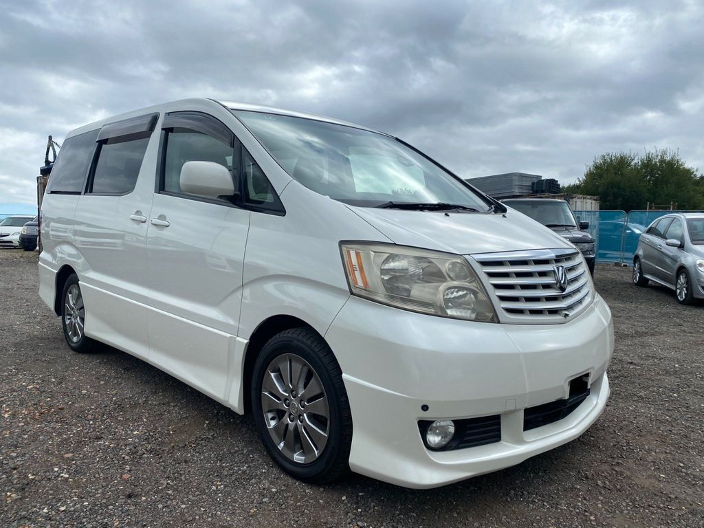 Toyota Alphard MPV Facelift 5-speed Automatic VVT G