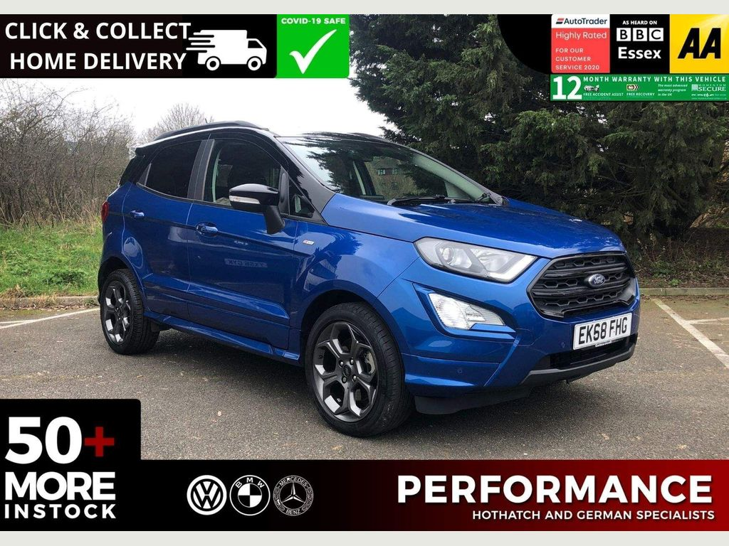 Ford EcoSport SUV 1.5 EcoBlue ST-Line (s/s) 5dr