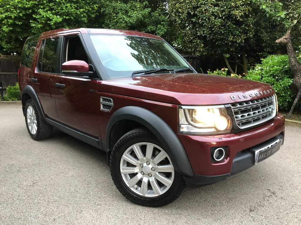 Land Rover Discovery 4 Panel Van 3.0 SD V6 XS LCV Auto 4WD 5dr