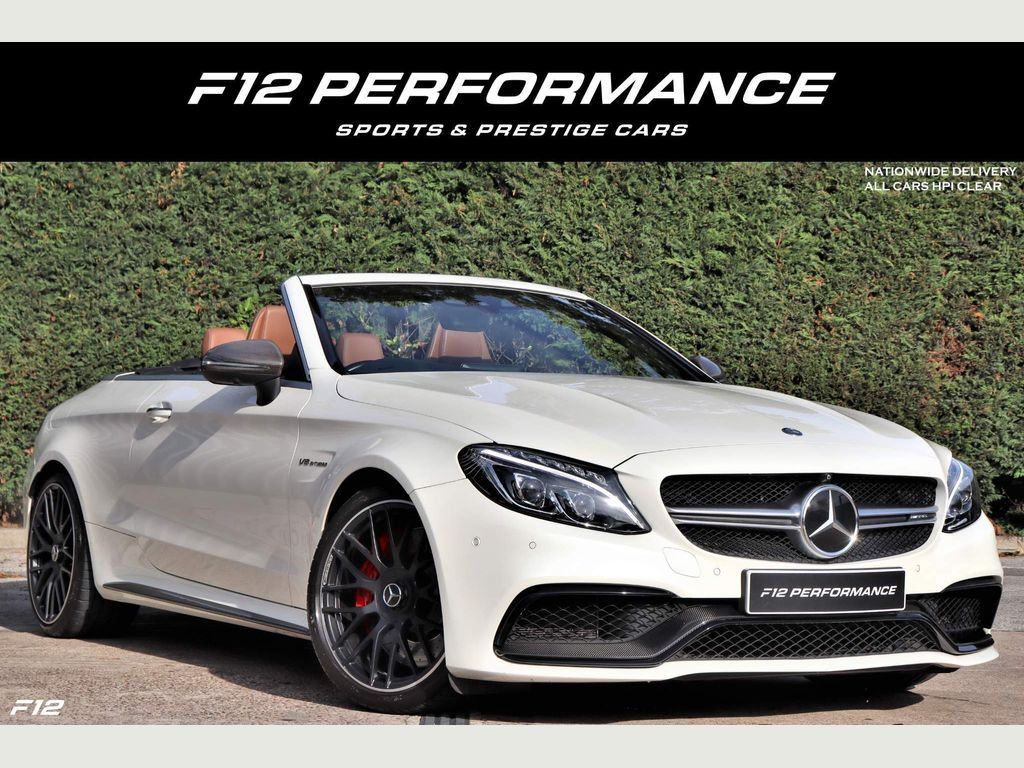 Mercedes-Benz C Class Convertible 4.0 C63 V8 BiTurbo AMG S Edition 1 Cabriolet SpdS MCT (s/s) 2dr
