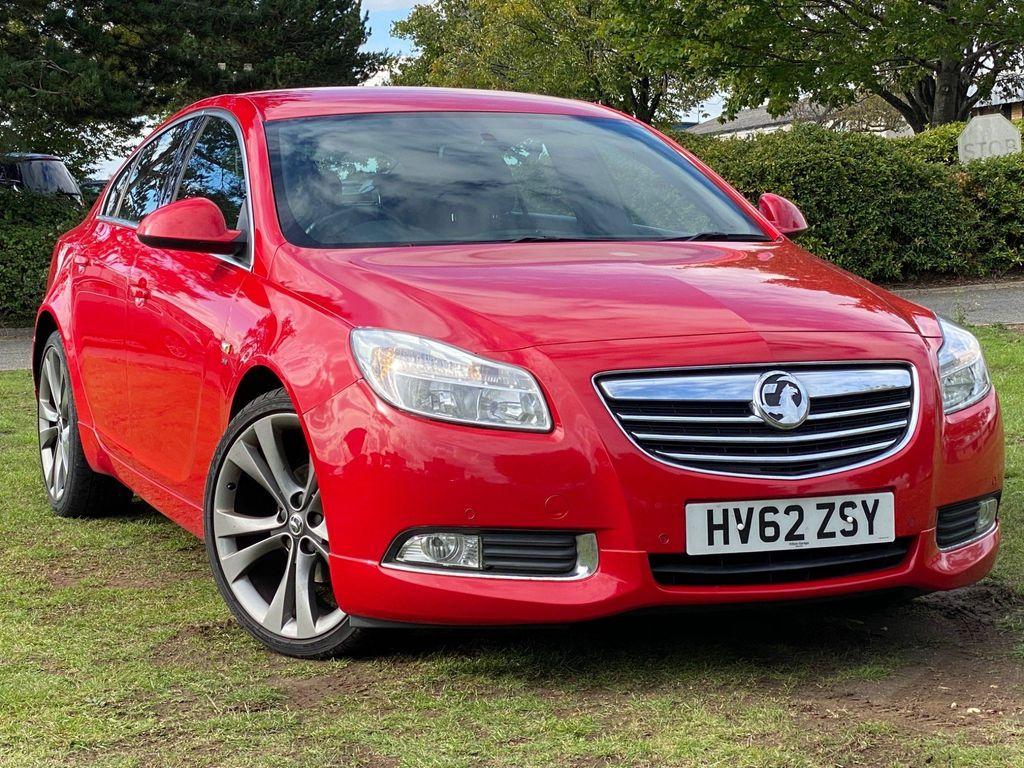 Vauxhall Insignia Hatchback 2.0 CDTi 16v SRi VX Line Nav Red 5dr