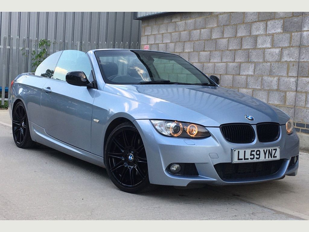 BMW 3 Series Convertible 3.0 325d M Sport Highline 2dr