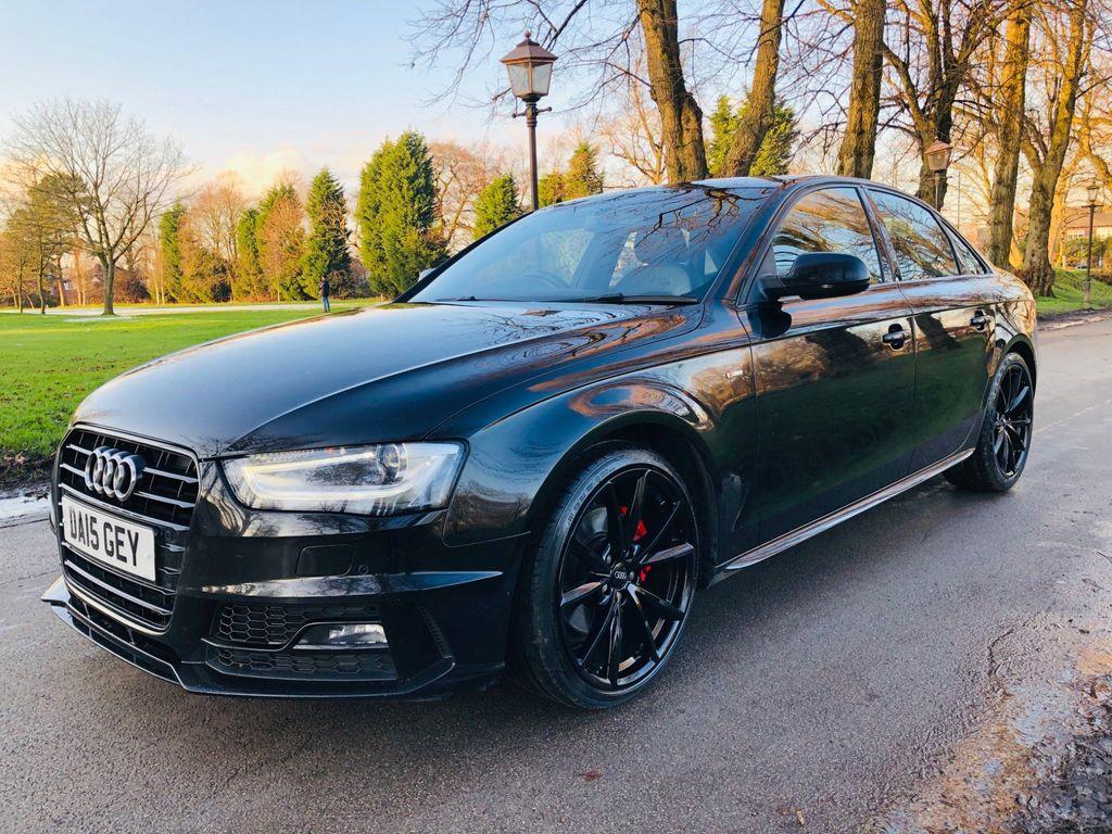 Audi A4 Saloon 2.0 TDI Black Edition Plus Multitronic 4dr