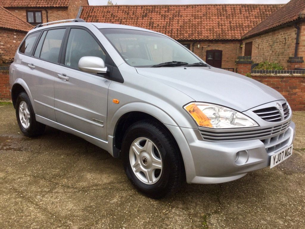 SsangYong Kyron SUV 2.0 TD S 5dr