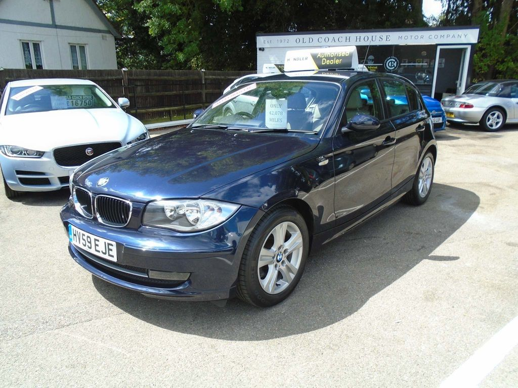 BMW 1 Series Hatchback 2.0 116i SE Auto 5dr
