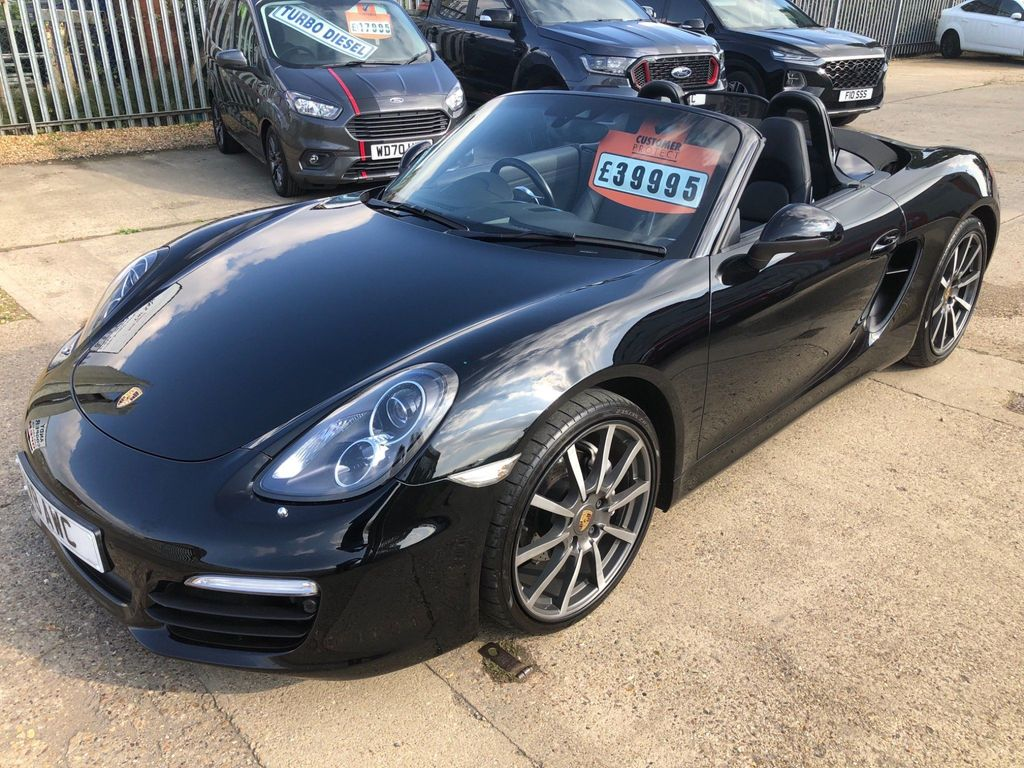 Porsche Boxster Convertible 2.7 981 Black Edition PDK (s/s) 2dr