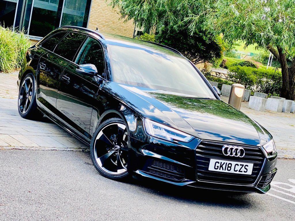 Audi A4 Avant Estate 2.0 TFSI Black Edition Avant S Tronic (s/s) 5dr
