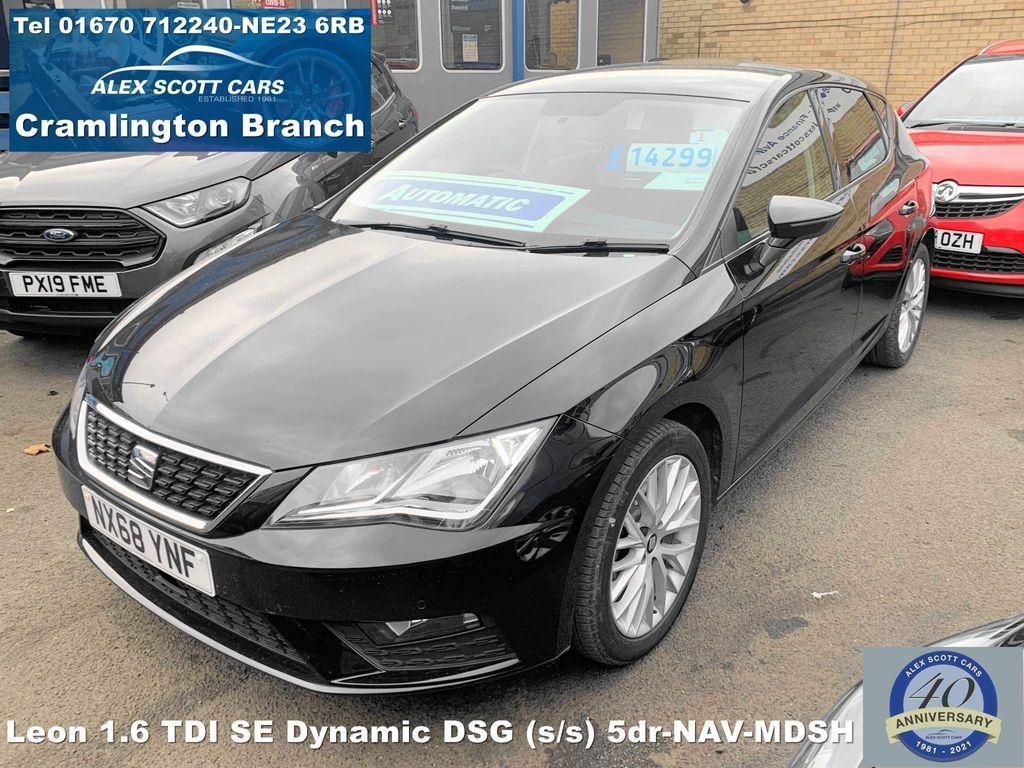 SEAT Leon Hatchback 1.6 TDI SE Dynamic DSG (s/s) 5dr