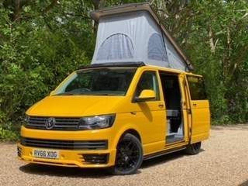 Volkswagen Transporter Van Conversion T6 TDi 150PS EURO6 SWB 6 SEAT 4 BERTH SURFWAGON