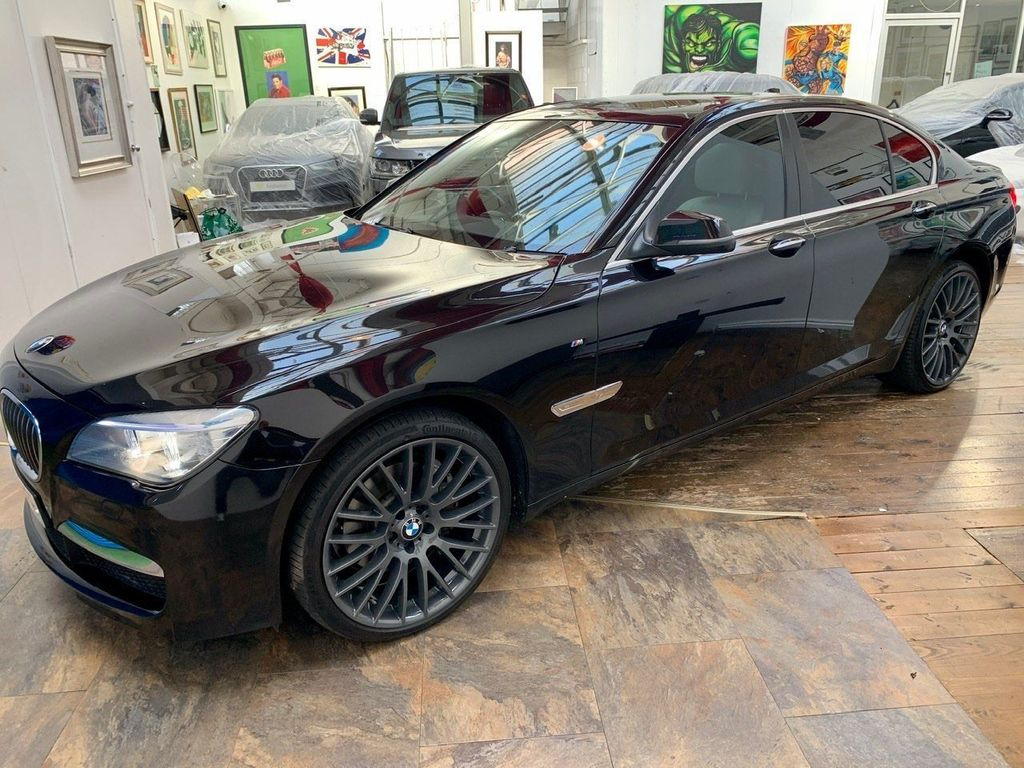 BMW 7 Series Saloon 3.0 740d M Sport (s/s) 4dr