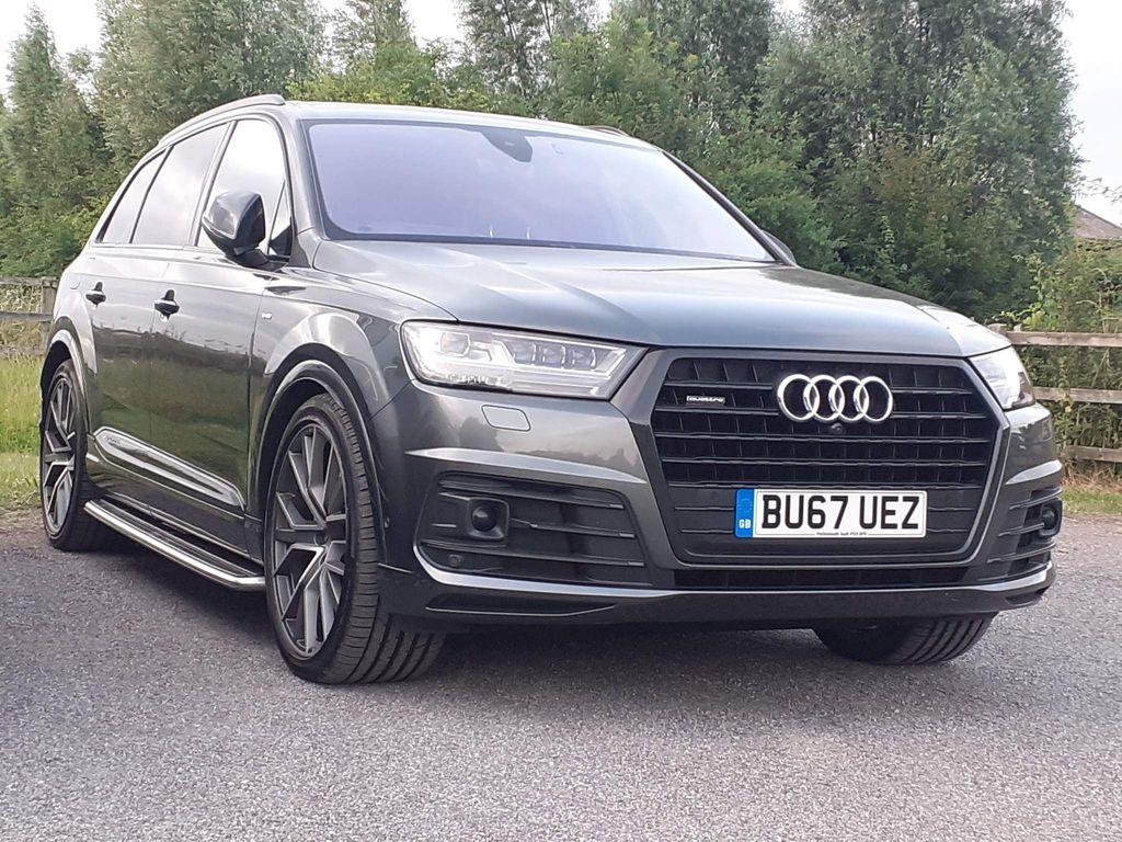 Audi Q7 SUV 3.0 TDI V6 Black Edition Tiptronic quattro (s/s) 5dr