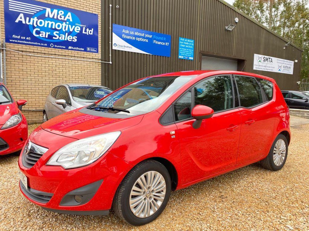Vauxhall Meriva MPV 1.4 i 16v Excite 5dr (a/c)