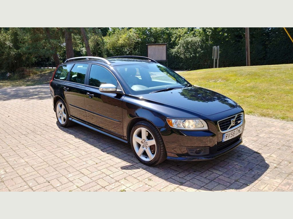 Volvo V50 Estate 2.0 D R-Design Sport Powershift 5dr