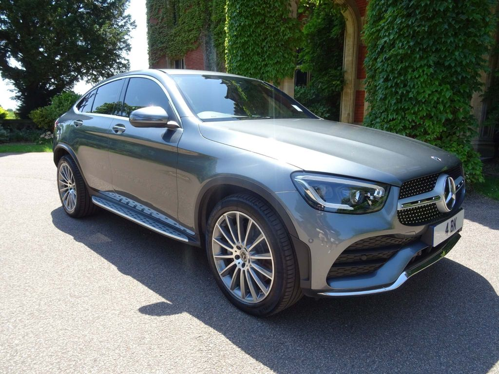 Mercedes-Benz GLC Class Coupe 2.0 GLC220d AMG Line (Premium) G-Tronic+ 4MATIC (s/s) 5dr