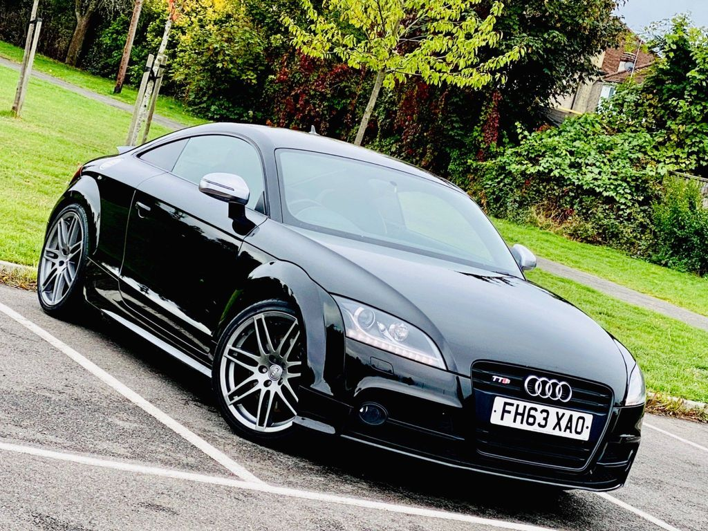 Audi TTS Coupe 2.0 TFSI Black Edition S Tronic quattro 2dr