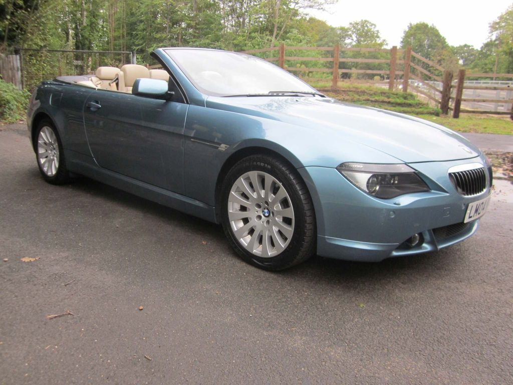 BMW 6 Series Convertible 4.4 645Ci 2dr
