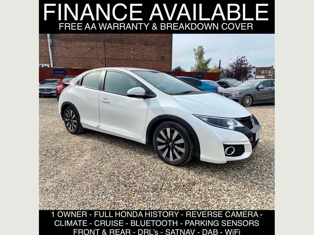 Honda Civic Hatchback 1.8 i-VTEC SE Plus (Navi) Auto 5dr