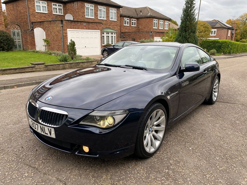 BMW 6 Series Coupe 3.0 630i Sport 2dr