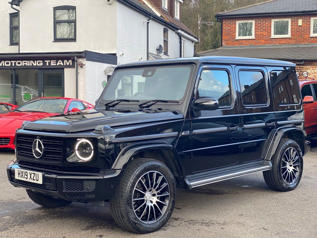Used Mercedes Benz G Class Suv 3 0 G350d Amg Line Premium G Tronic 4wd S S 5dr In Chesham Buckinghamshire The Motoring Team
