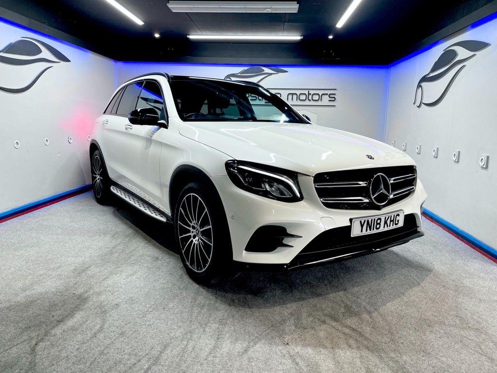 Mercedes-Benz GLC Class SUV 3.0 GLC350d V6 AMG Line (Premium Plus) G-Tronic 4MATIC (s/s) 5dr
