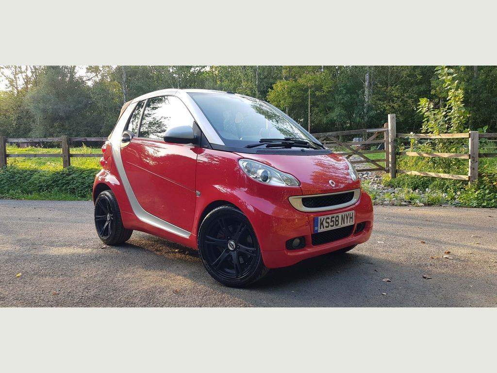 Smart fortwo Convertible 1.0 Passion Cabriolet 2dr