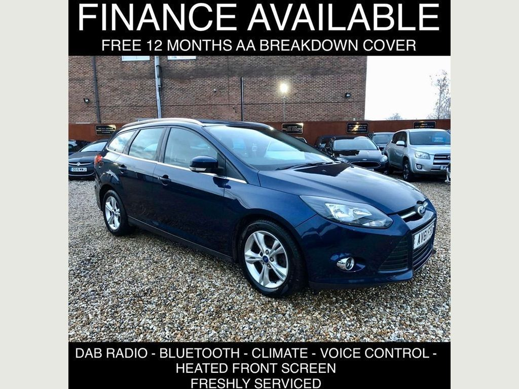 Ford Focus Estate 2.0 TDCi Zetec Powershift 5dr