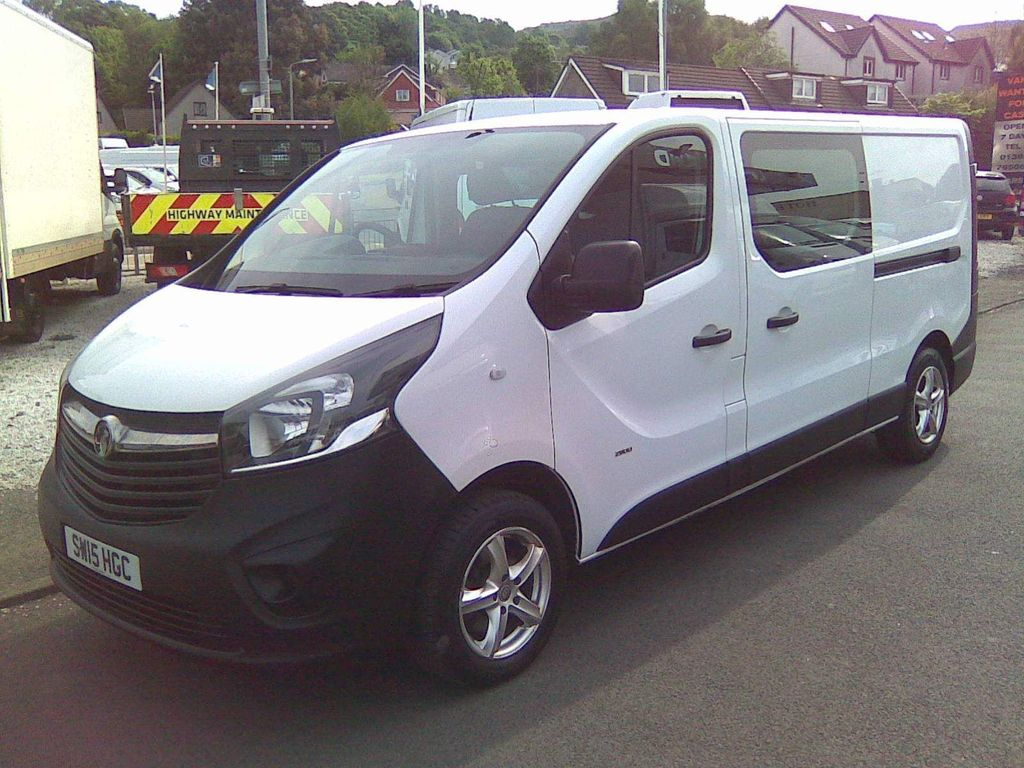 Vauxhall Vivaro Other 1.6 CDTi 2900 BiTurbo ecoFLEX Crew Van L2 H1 EU5 (s/s) 5dr (6 Seat)