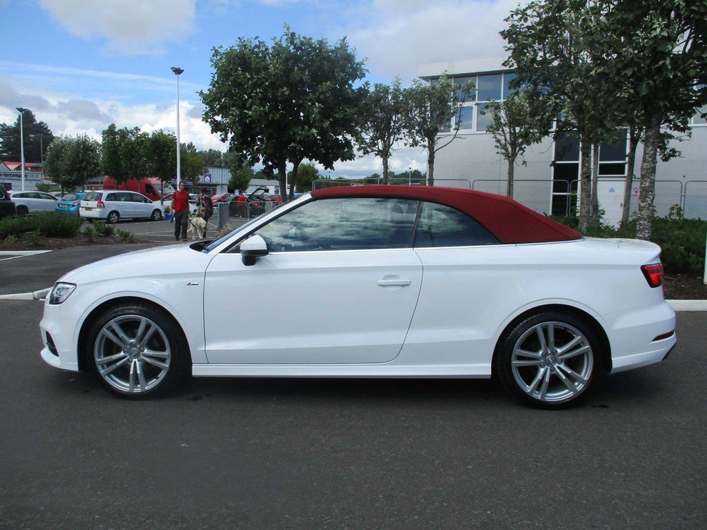 Audi A3 Cabriolet Convertible 1.6 TDI S line Cabriolet (s/s) 2dr