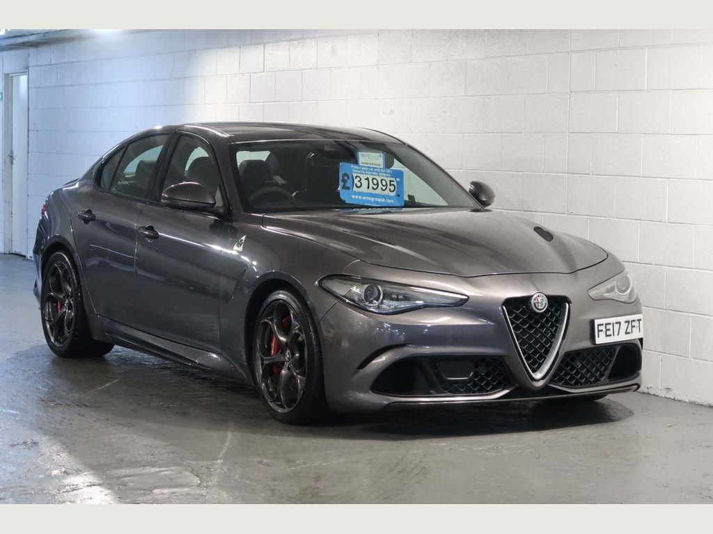Alfa Romeo Giulia Saloon 2.9 V6 Bi-Turbo Quadrifoglio Auto (s/s) 4dr