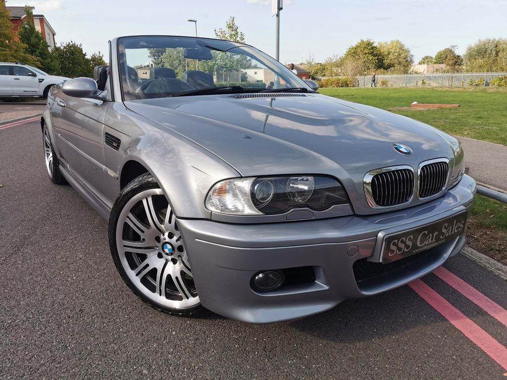 BMW M3 Convertible 3.2 Sequential 2dr