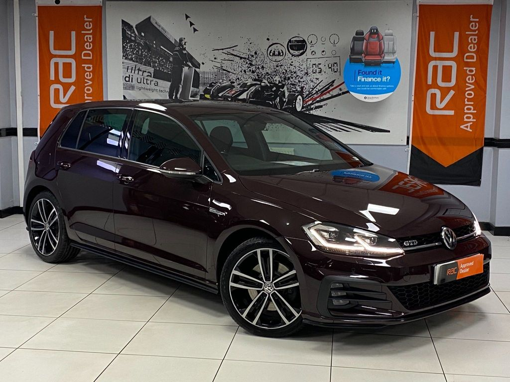 Volkswagen Golf Hatchback 2.0 TDI BlueMotion Tech GTD (s/s) 5dr