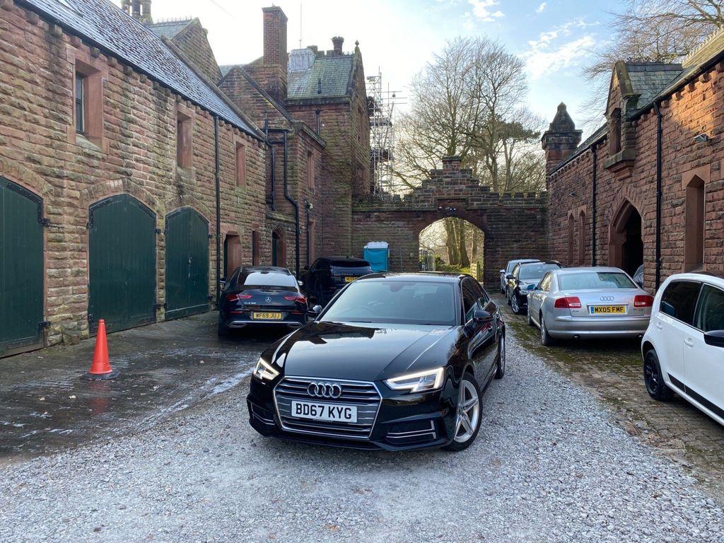 Audi A4 Saloon 1.4 TFSI S line (s/s) 4dr