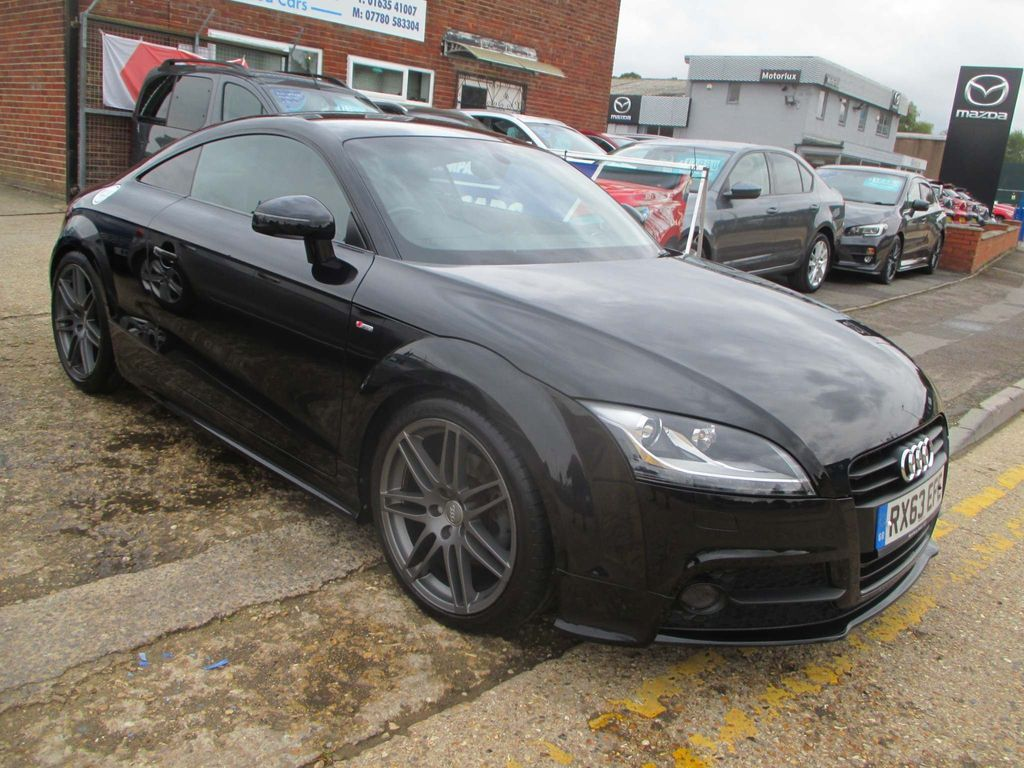 Audi TT Coupe 2.0 TFSI Black Edition 2dr