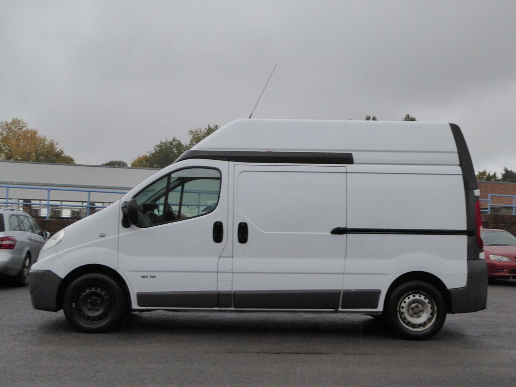 Nissan Primastar Panel Van 2.0 dCi SE 2900 High Roof Panel Van 4dr (LWB)