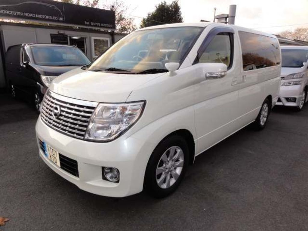 Nissan Elgrand Unlisted X EDN GRADE 4.5 SUPERB FRESH IMPORT