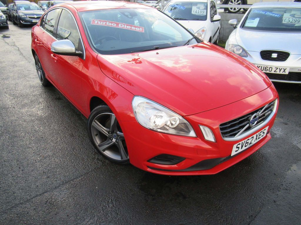 Volvo S60 Saloon 2.0 D4 R-Design 4dr