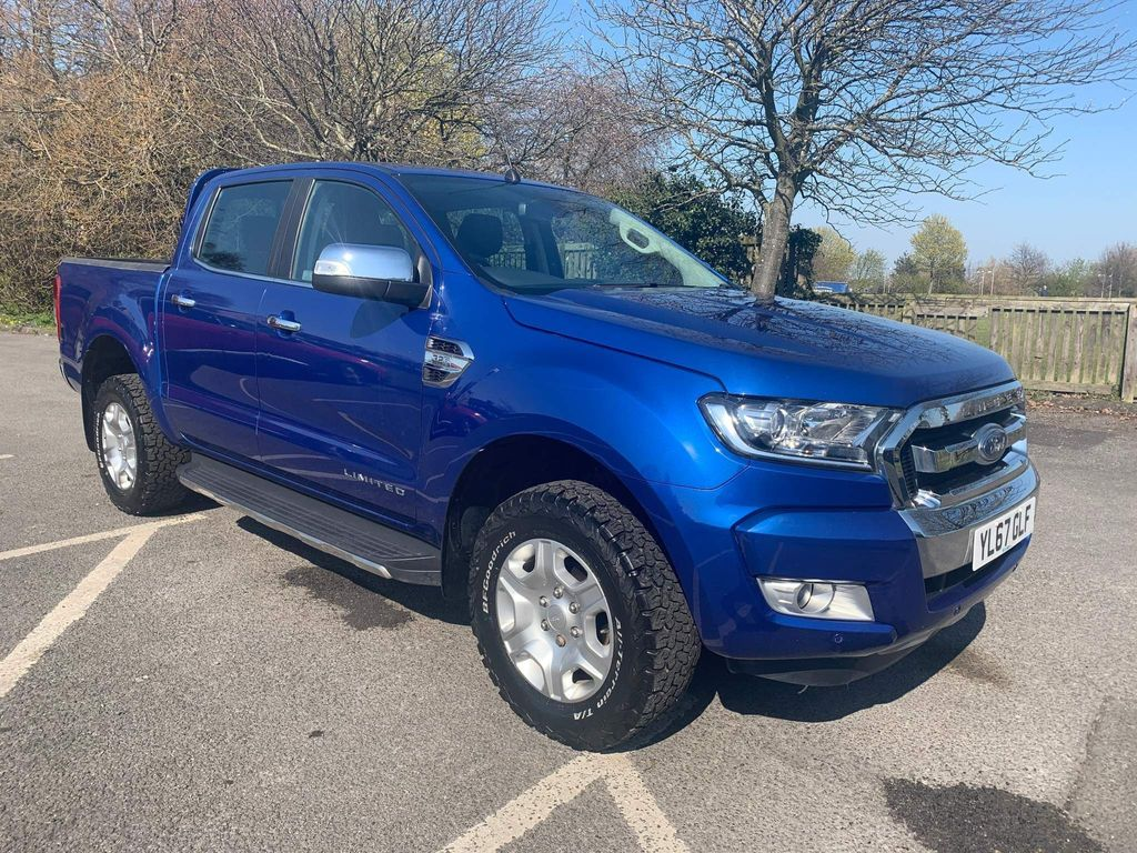 Ford Ranger Pickup 3.2 TDCi Limited 2 Double Cab Pickup 4WD (s/s) 4dr