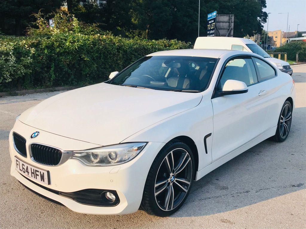 BMW 4 Series Coupe 2.0 420d SE 2dr