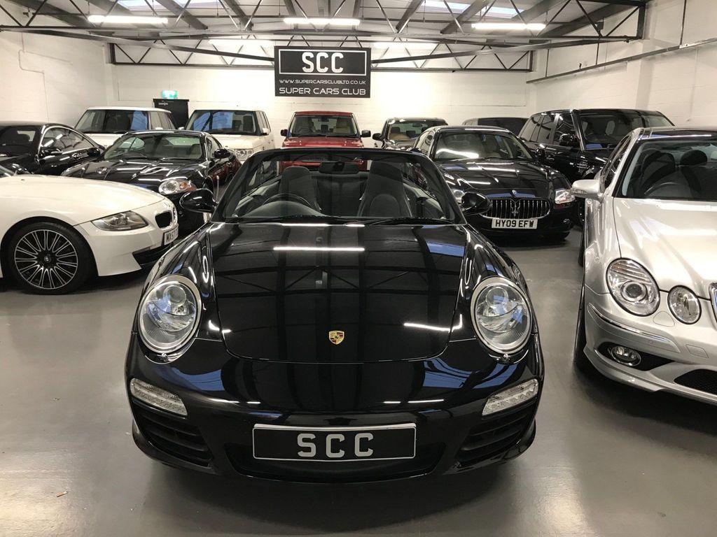 Porsche 911 Convertible 3.6 997 Black Edition Cabriolet PDK 2dr