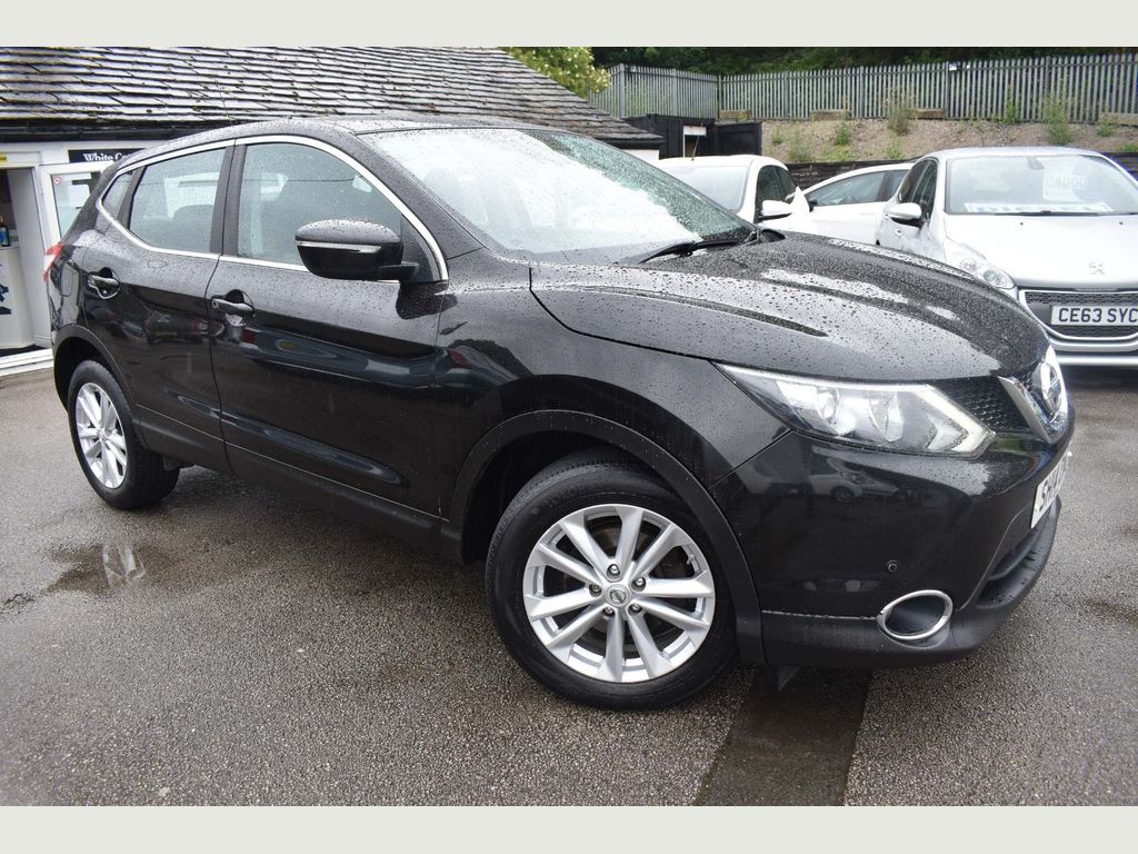 Nissan Qashqai SUV 1.5 dCi Acenta (Smart Vision Pack) 5dr