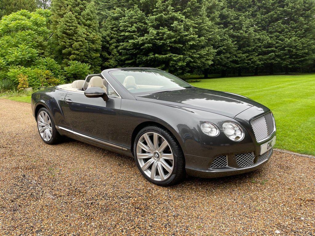 Bentley Continental Convertible 6.0 FlexFuel GTC Auto 6Spd 4WD 2dr