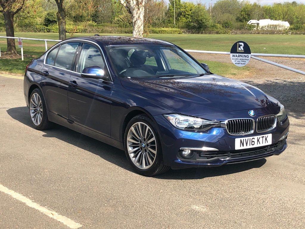 BMW 3 Series Saloon 2.0 330e 7.6kWh Luxury Auto (s/s) 4dr