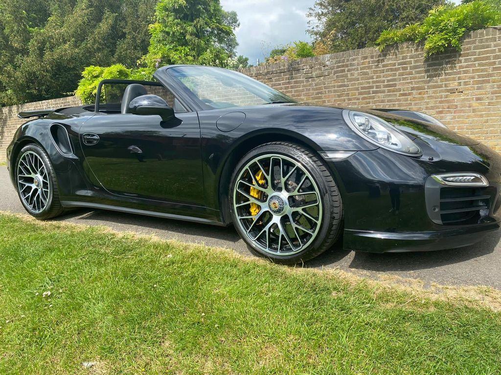 Porsche 911 Convertible 3.8T 991 Turbo S PDK 4WD 2dr