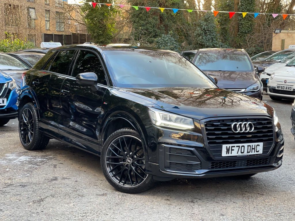 Audi Q2 SUV 1.5 TFSI CoD 35 Black Edition S Tronic (s/s) 5dr