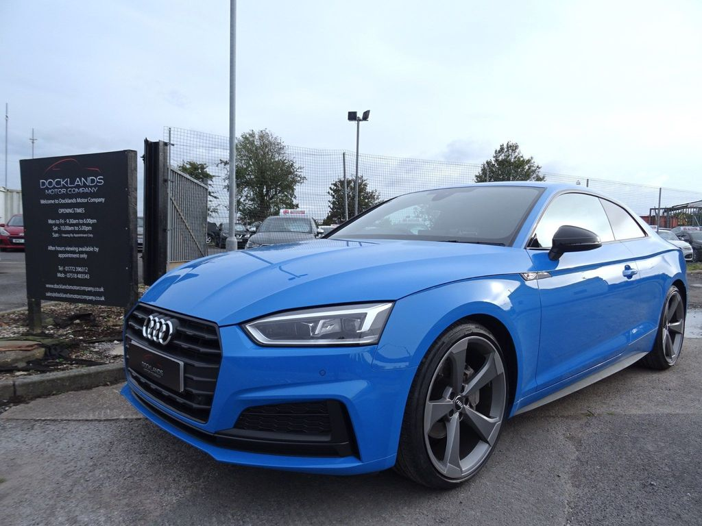 Audi A5 Coupe 2.0 TDI 40 Black Edition S Tronic (s/s) 2dr